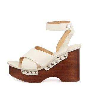 deb94d40c1ff rag   bone Shoes - Rag   Bone Hester Leather Wedge Sandals